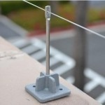 bird wire and post system
